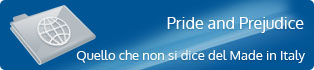 Pride and Prejudice - Quello che non si dice del made in italy