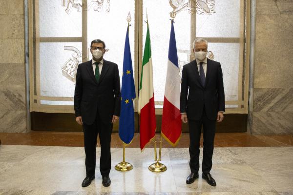 Giorgetti e Le Maire