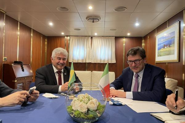 Giorgetti incontra il ministro brasiliano Pontes