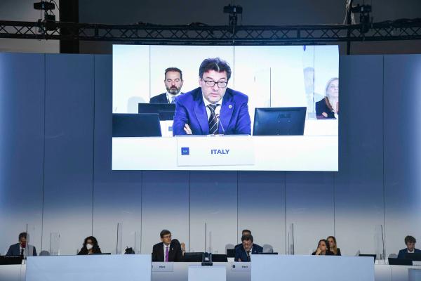 G20 Digitale - Un momento dei lavori