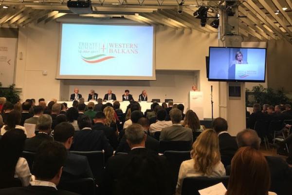 Un momento dei lavori al Business Forum