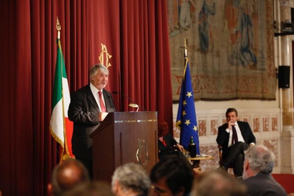 Il Ministro Poletti durante il suo intervento