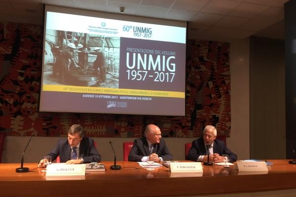 Il tavolo dei relatori con Gilberto Dialuce, Franco Terlizzese e Pietro Cavanna