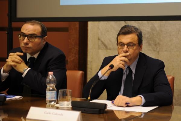 Il Ministro Carlo Calenda e il Direttore Generale Stefano Firpo