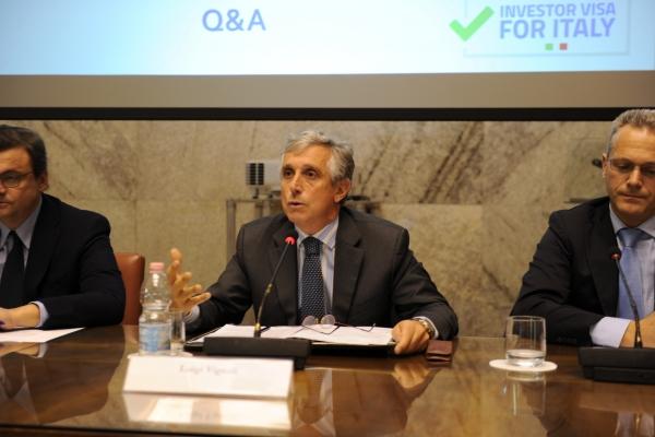 L'intervento di Luigi Vignali (direttore generale per gli Italiani all'estero e le Politiche migratorie del Maeci)