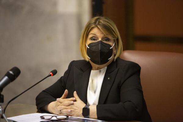 Il Presidente di Poste Italiane, Maria Bianca Farina