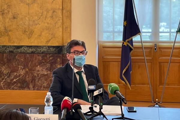 Il ministro Giorgetti al Politecnico di Milano