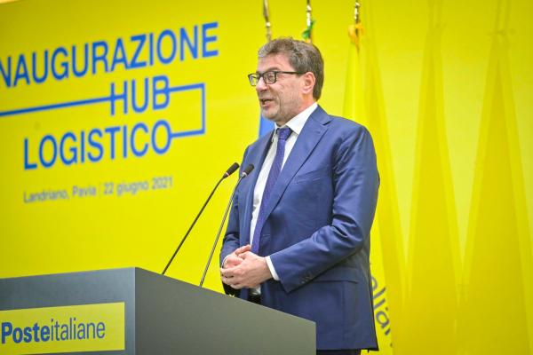 Il ministro durante il suo intervento