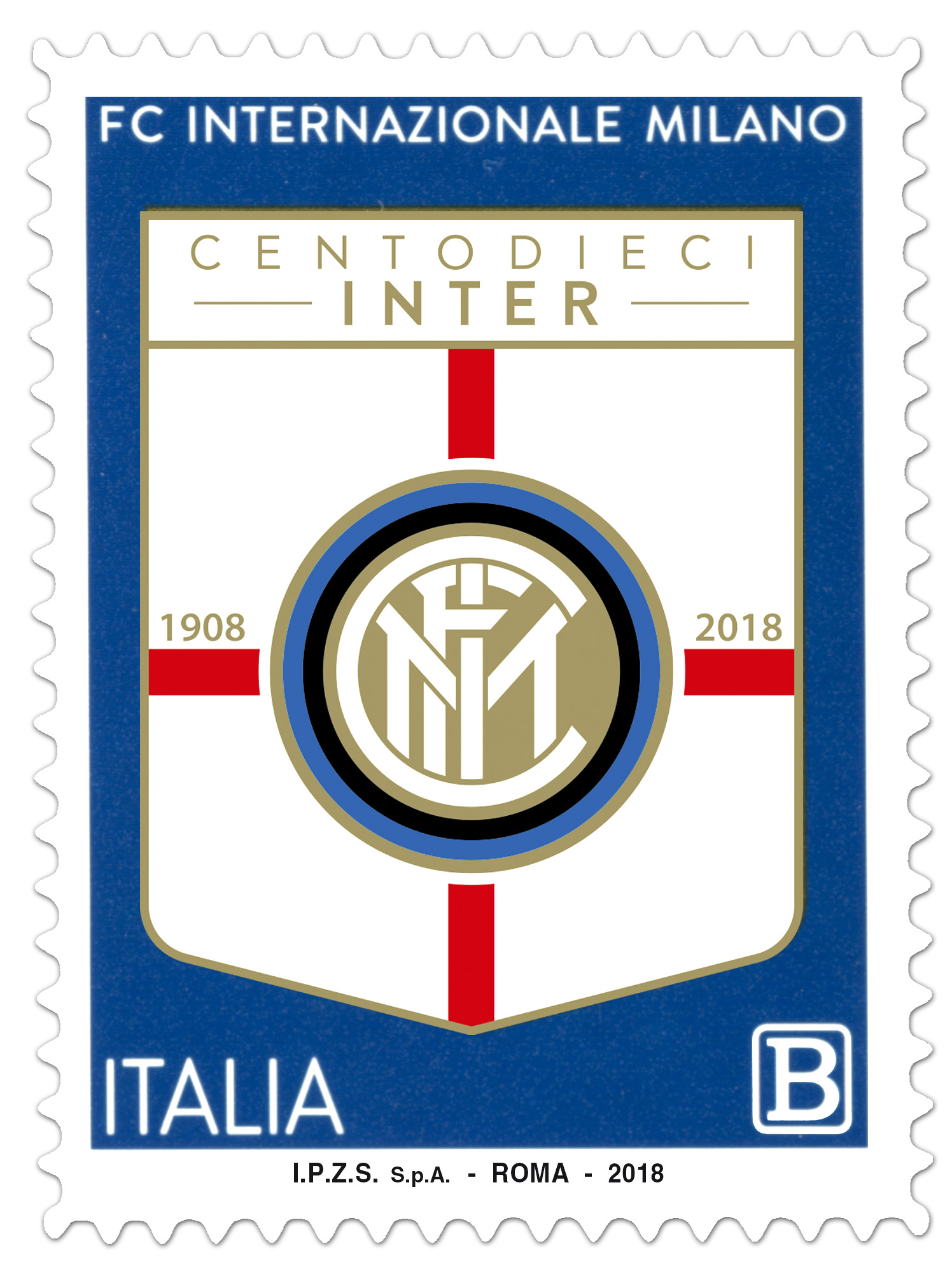 Francobollo Inter